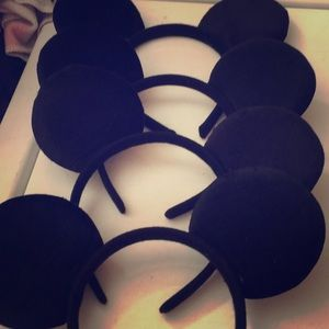 New lot of 4 Mickey Mouse ears headbands